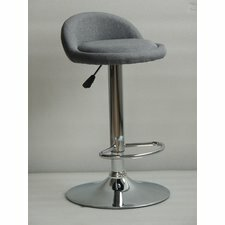 Elektra Adjustable Height Swivel Bar Stool Orren Ellis