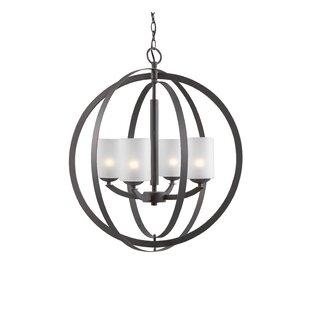 Heavner 4-Light Globe Chan..