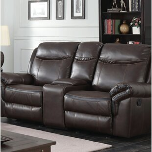 Latitude Run Hassen Transitional Reclining Loveseat