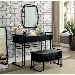 Winston Porter Loftus Vanity Set with Mirror