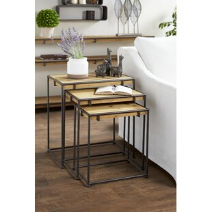 Lemon 3 Piece Nesting Tables