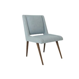 Mid Century Upholstered Dining Chair by M..