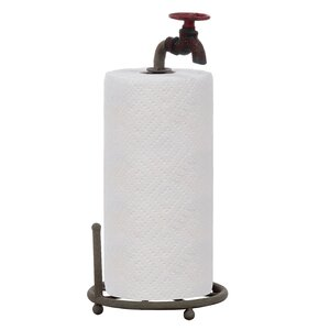 Secret Garden Paper Towel Holder