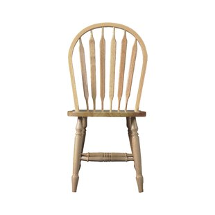 Audette Windsor Arrowback Solid Wood Dining Chair by August Grove