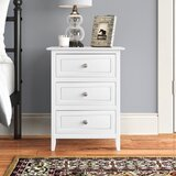 Santaana 3 - Drawer Nightstand in True White