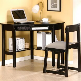 Wildon Home ® Corner Desk And Chair Set