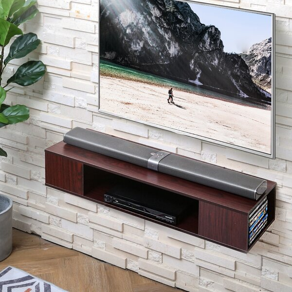 Latitude Run Allannah Floating Tv Stand For Tvs Up To 50 Reviews Wayfair