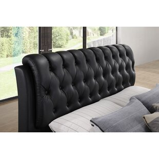 Plumwood Upholstered Platform Bed by Red Barrel Studio