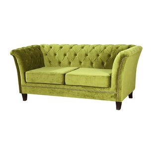 Siena 2 Seater Chesterfield Sofa Bed By Rosdorf Park