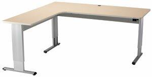 Infinity L-Shape Standing Desk