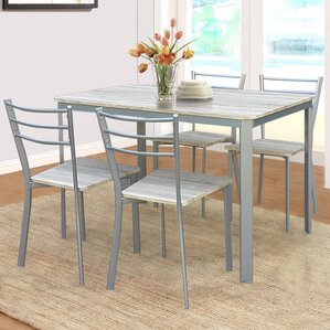 athene dining table and 4 chairs