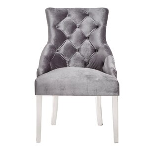 Seville Upholstered Dining Chair (Set of 2) by Rosdorf Park