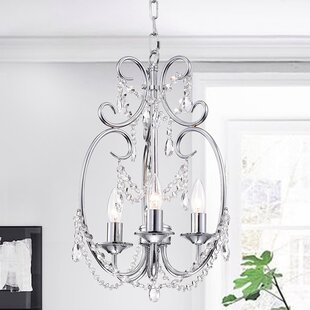 House of Hampton Alasdair 3-Light Candle Style Chandelier