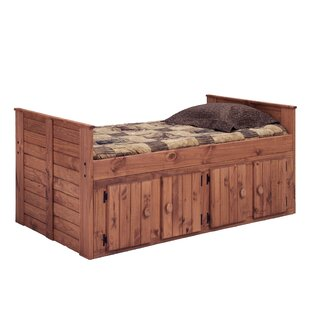 Chavis Twin Mate's & Captain's Bed With Storage by Harriet Bee