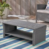 Liberatore Wicker Coffee Table