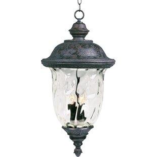 Astoria Grand Islington 3-Light Outdoor Hanging Lantern