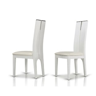 Clower Wood Side Chair (Set of 2) Orren Ellis