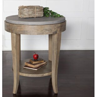 Mari Round End Table
