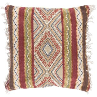 Fressia Square Cotton Throw Pillow Cover
