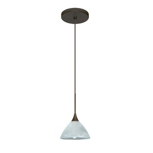 Besa Lighting Domi 1 Integrated Bulb Mini Pendant
