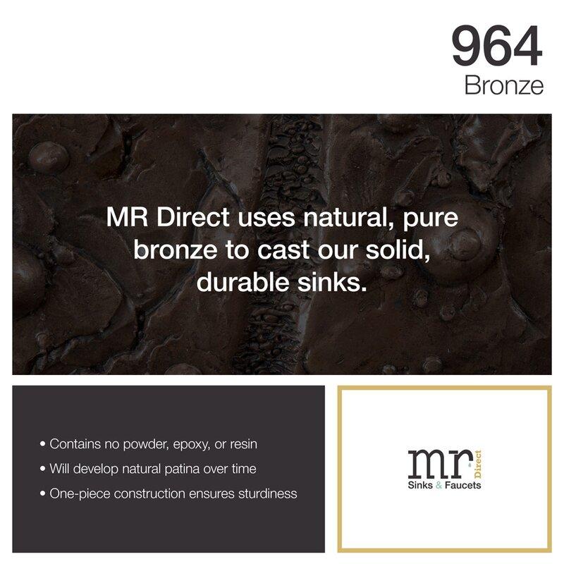 MRDirect Sea Urchin Bronze Specialty Vessel Bathroom Sink With ...