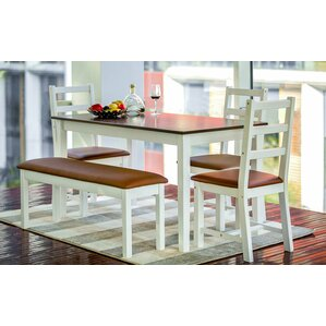Sawicki 5 Piece Dining Set by Latitude Run