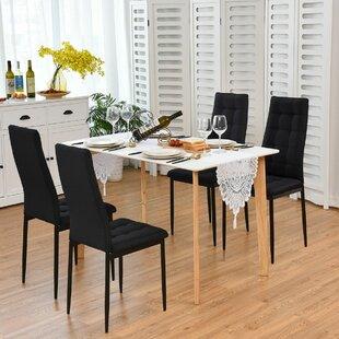 Bargain Killingworth Upholstered Dining Chair by Orren Ellis Reviews (2019) & Buyer's Guide