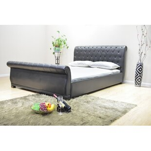 Queen Upholstered Sleigh Bed by Greatime Great price