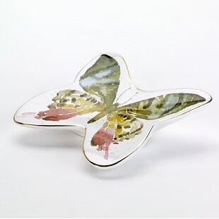 Butterfly Garden Soap Dish by Avanti Linens