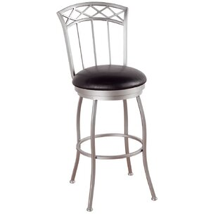 Humes 34 Swivel Bar Stool Red Barrel Studio