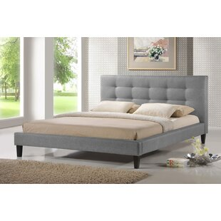 Best Deals Pelham Upholstered Platform Bed by Ivy Bronx Reviews (2019) & Buyer's Guide