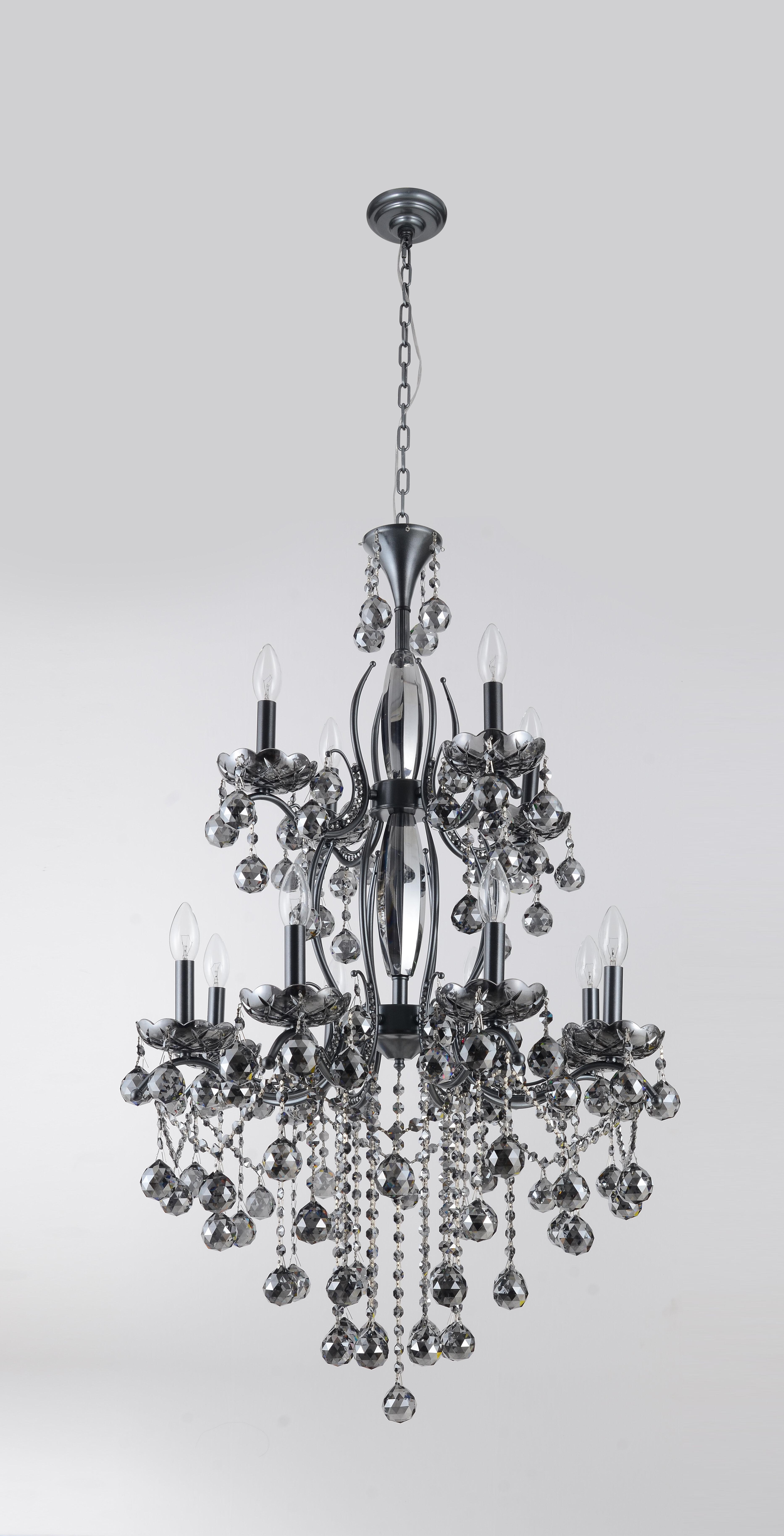 House Of Hampton Karine 12 Light Candle Style Empire Chandelier Wayfair