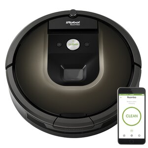 Roombau00ae 980 Wi-Fiu00ae Connected Vacuuming Robot