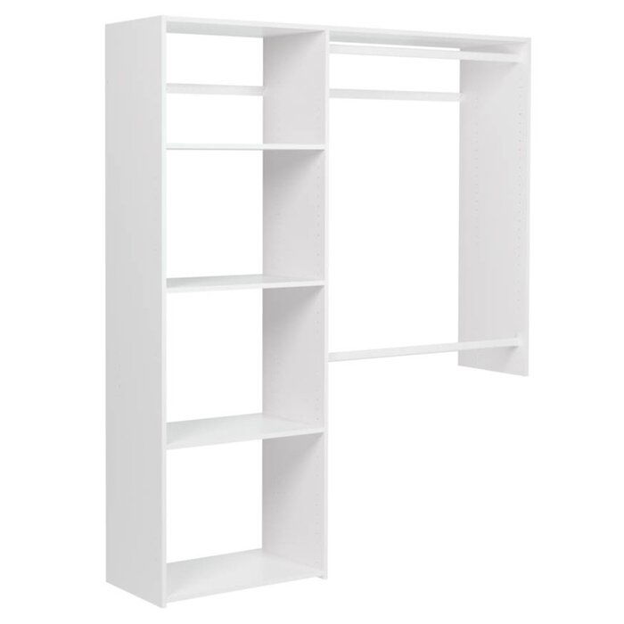 Surprising Alana 36W 60W Shelving Closet System Pdpeps Interior Chair Design Pdpepsorg