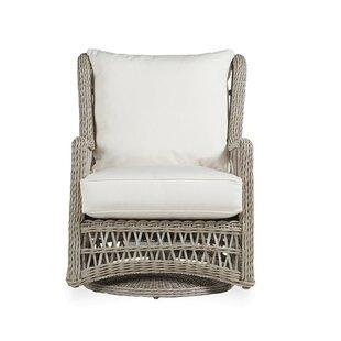 Mackinac High Back Swivel Glider Chair With Cushions