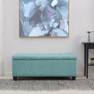 Fetter Tufted Storage Ottoman