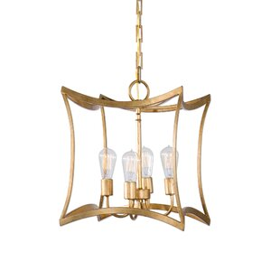 Mercer41 Enprise 4 -Light LED Geometric Pendant