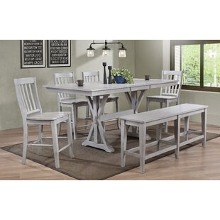 Clennell 6 Piece Pub Table Set Gracie Oaks