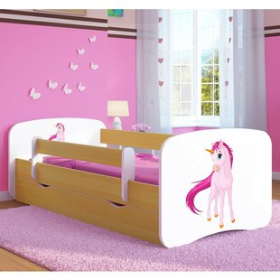 Cerny Convertible Toddler Bed With Drawer By Zoomie Kids
