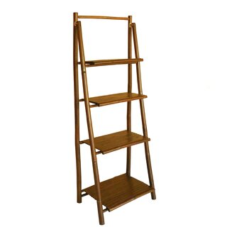4 Tier Ladder Bookcase by ZEW Inc SKU:BB175093 Details