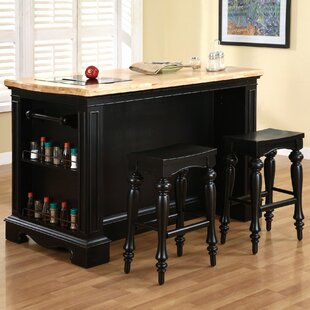 Darby Home Co Burkhart Kitchen Island Set