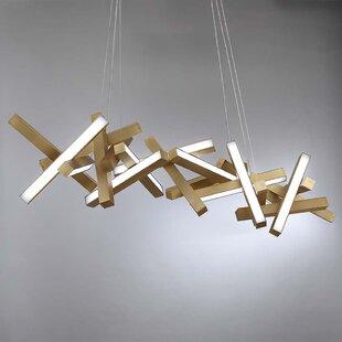 Modern Forms Chaos 19-Light LED Geometric Chandelier
