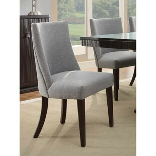 Cheyenne Upholstered Dining Chair (Set of 2) Rosdorf Park