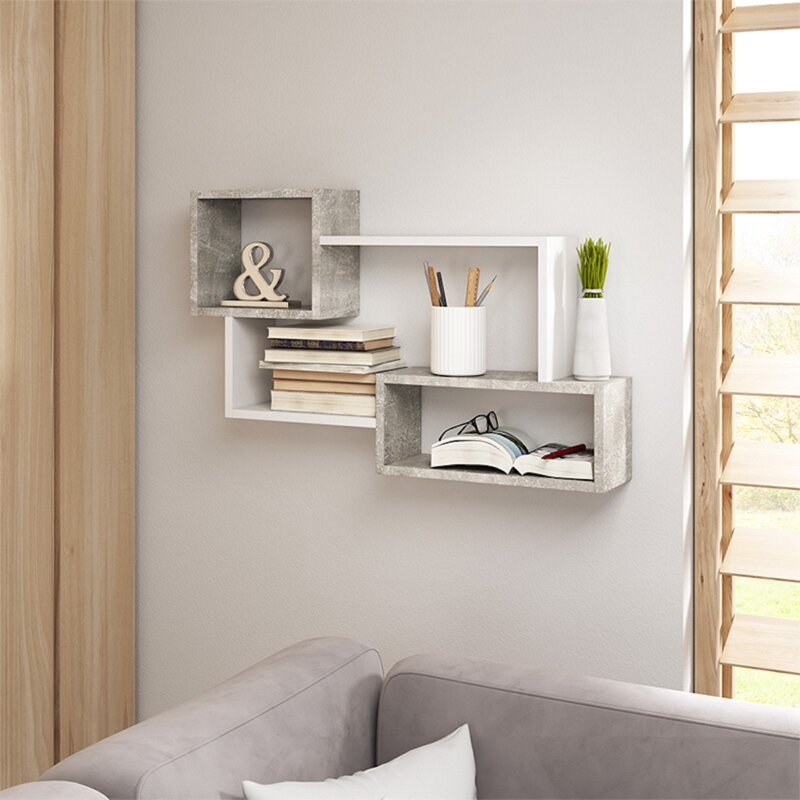 Selsey Living Kassi Wall Shelf Reviews Wayfair Co Uk