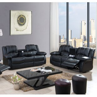 Egor Living Room Reclining Set 2 Piece Li..