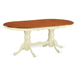 Rauscher Extendable Solid Wood Dining Table