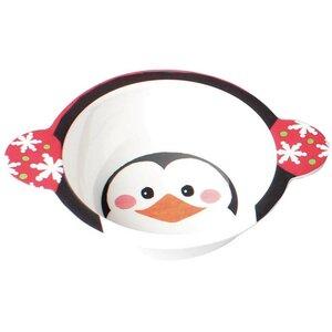 Penguin Flurries Low Melamine Soup Bowl (Set of 12)