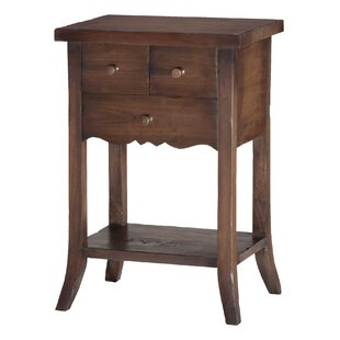 Best Price Dany 3 Drawer End Table by One Allium Way