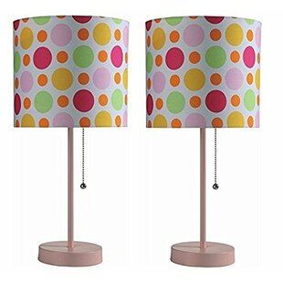 Pull Chain with Fancy Shade 19 Table Lamp (Set of 2)