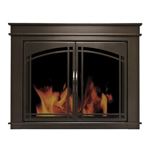 Fenwick Cabinet Style Steel Fireplace Doors by Pleasant Hearth
